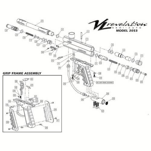 ViewLoader Revelation Gun Diagram