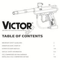 Kingman Spyder Victor 2012 Gun Manual