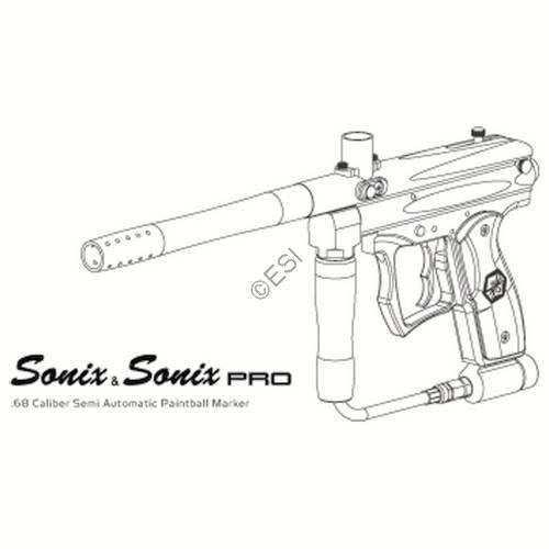 Kingman Spyder Sonix 07 Gun Manual