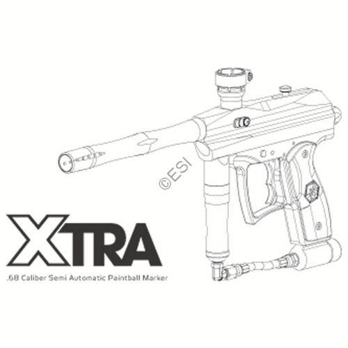 Kingman Spyder Xtra 09 Gun Manual