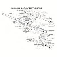 Tippmann 98 Custom ACT Gun Diagram