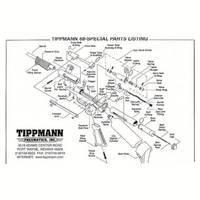 Tippmann 68 Carbine Gun Diagram