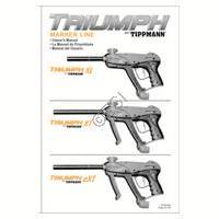 Tippmann 98 Custom ACT Gun Diagram