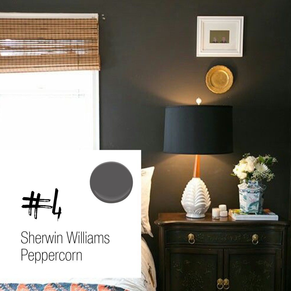 Sherwin Williams Peppercorn Kitchen Cabinets