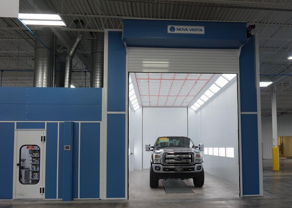 Truck Paint Booths  Paintboothcom