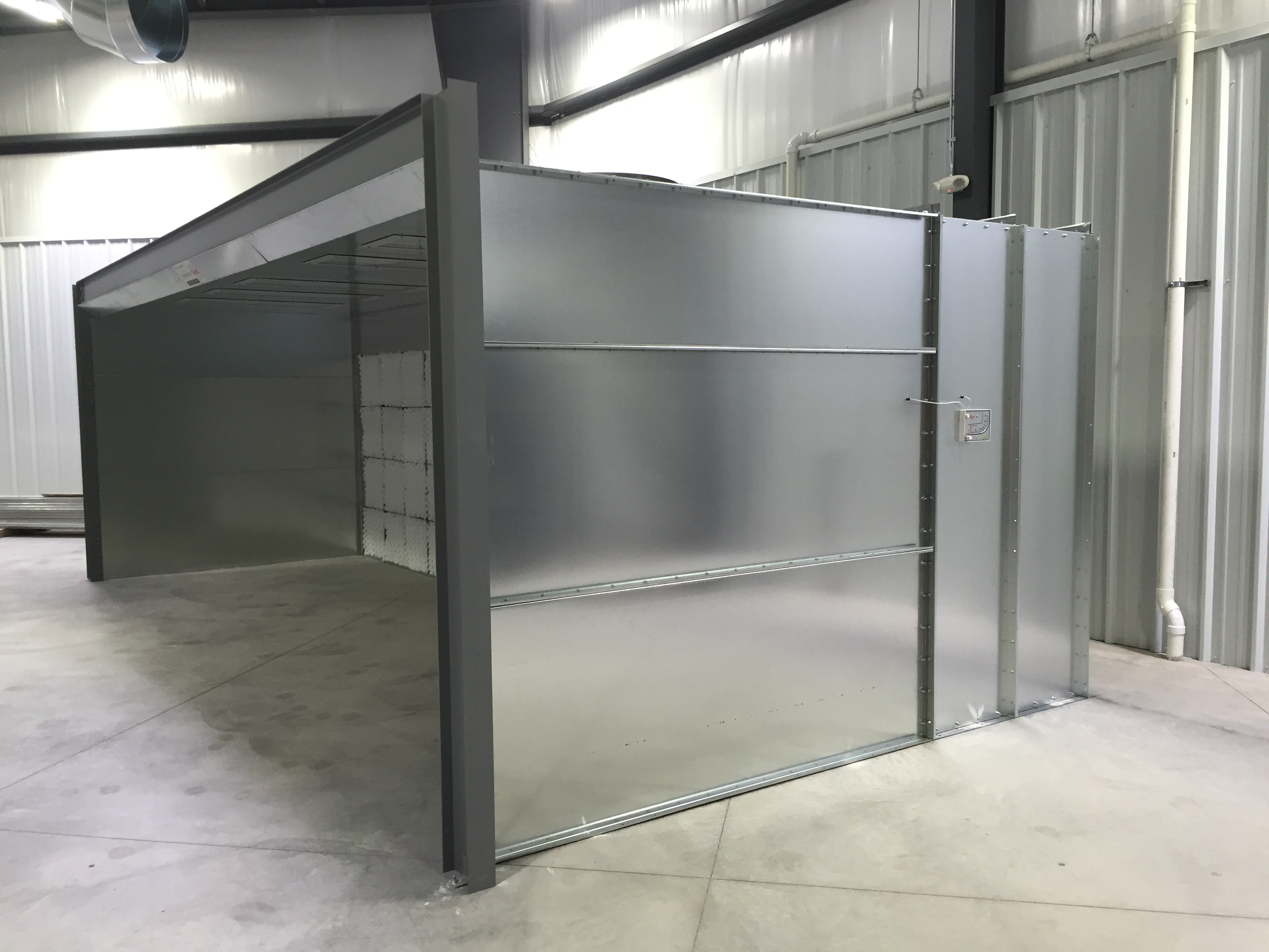 Industrial Paint Booths  Paintboothcom