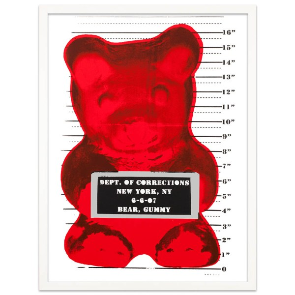 Whisbe Gummy Bear Yellow Red Frame