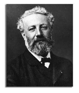 Photoportrait of Jules Verne.