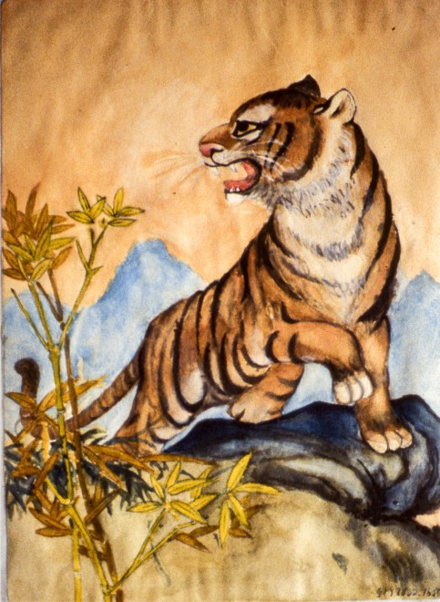 Image of a tiger