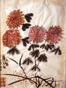 Image of red flower blossoms