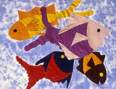 Image of fish underwater