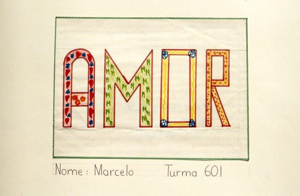 """Decorative image of the word """"Amor"""""""
