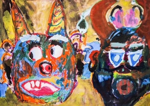 Mummer's Masks