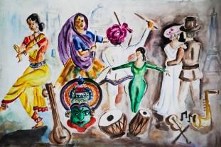 Similarities Between Dance of East and West