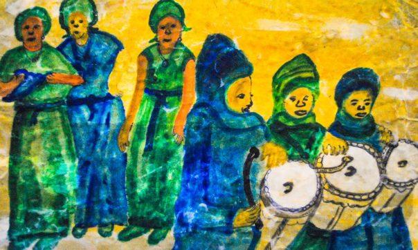 Kanuri Drummers & Dancers Womanhood Initiation