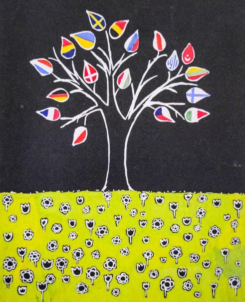 Drop Me a Line - Tree of Friendship