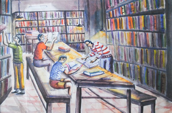 View of My Library