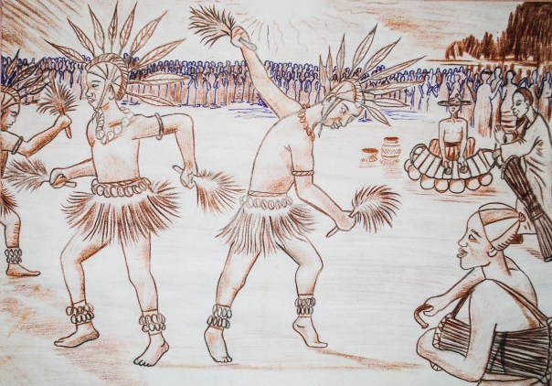 Danse Folklore du Burkina en Pays Lobi