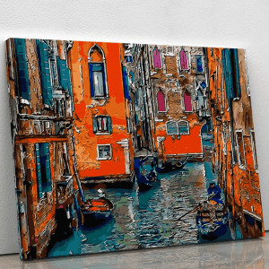 Colourful Canals in Venice