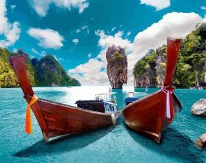 Island Hopping in Phuket Thailand
