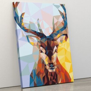 Abstract Male Deer