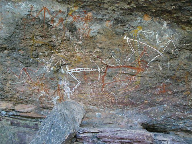 aboriginal-art-at-ubirr-kakadu-park-northernt-territory-australia_alamy-com