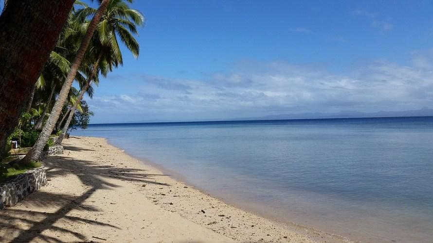 Peaceful Tranquility Fiji Sea Idyllic Beach