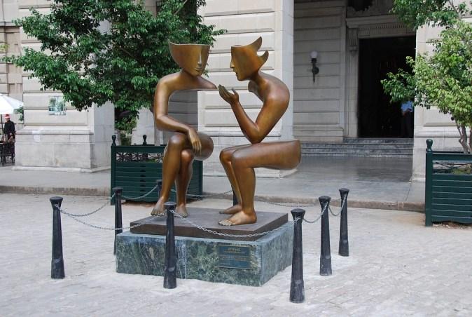 Cuba Old Havana Illusion Statue Saint Sculpture