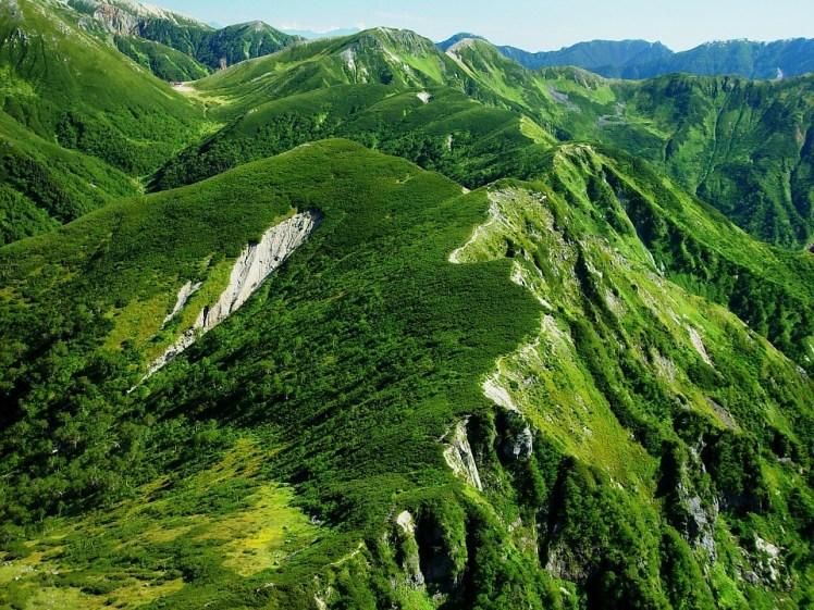 Japan Nature Scenic Outside Mountains Landscape