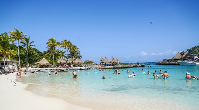 Cancun Lagoon Xcaret Vacation Mexico Tropical