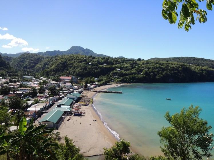 Sea Saint Lucia St Lucia Blue Caribbean Island