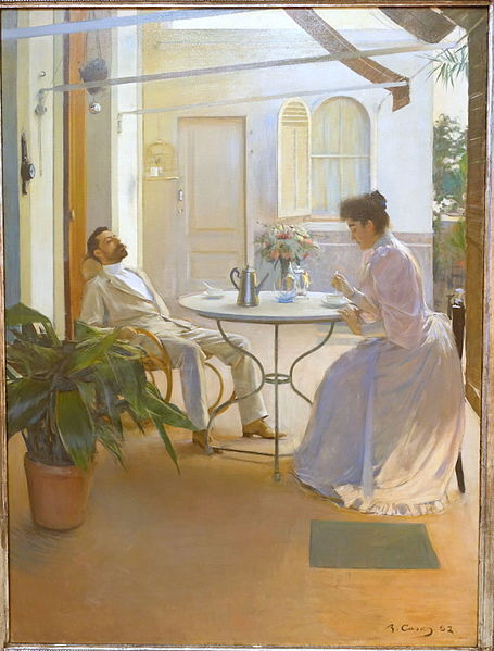 Interior_at_Outdoors_by_Ramon_Casas_i_Carbo,_1892_AD,_oil_on_canvas_-_Museo_Nacional_Centro_de_Arte_Reina_Sofía_-_DSC08746