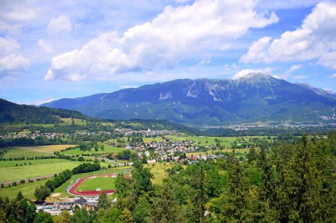 Lying Mountain Mountains Bled Slovenia Nature