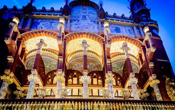 Palau_de_la_Música_Catalana_at_night_-_DS4_8757