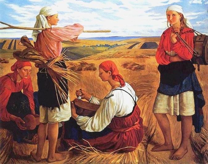 759px-Serebryakova_Harvest_1915