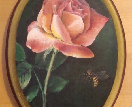 The Rose and the Honeybee