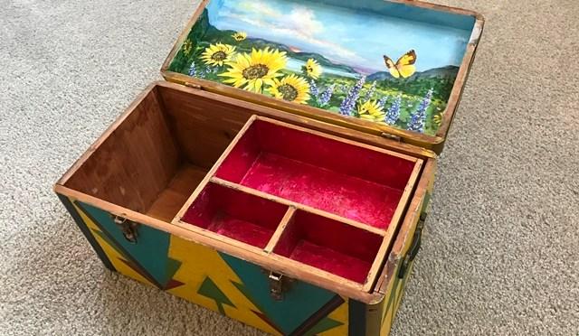 Vintage Box Restored
