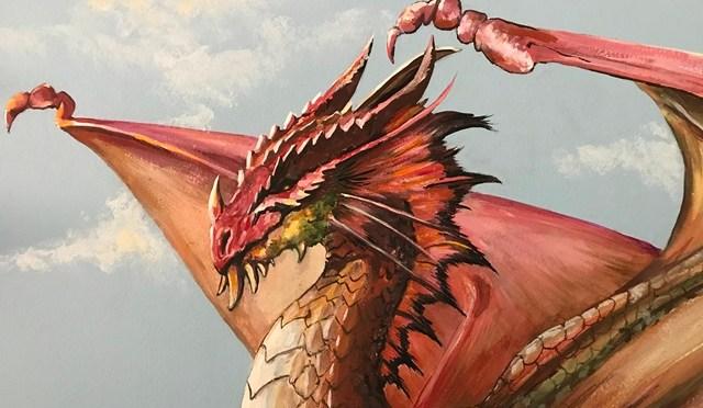 Dragon Guardians Mural