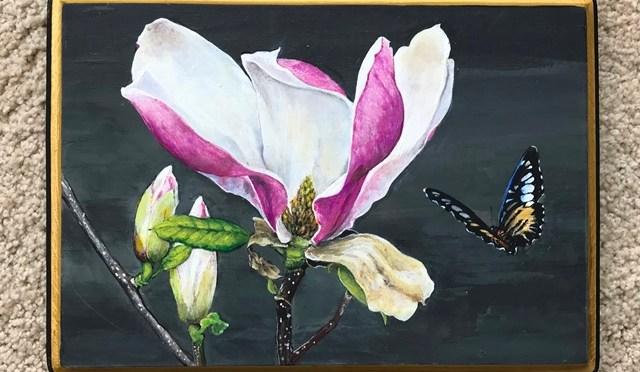 Magnolia Plaque