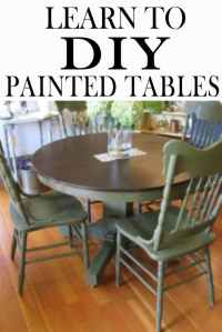 The 5 Mistakes People Make While Painting A Kitchen Table ...