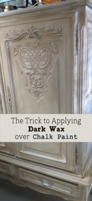 Furniture Painting Wax Using Techniques