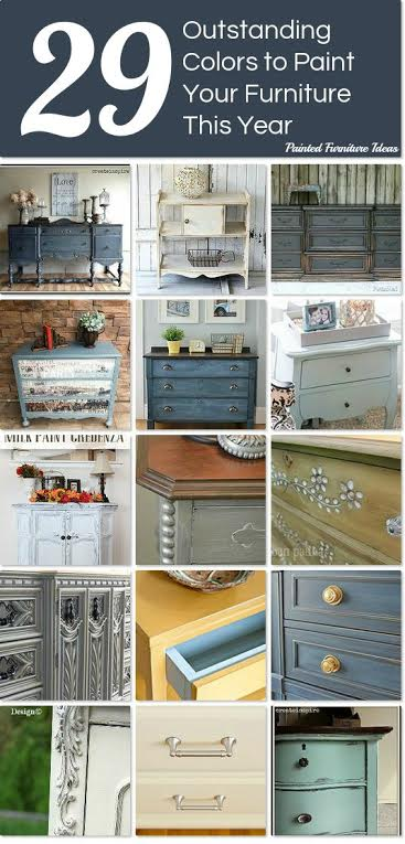 Painted Furniture Ideas  29 Outstanding Paint Colors to