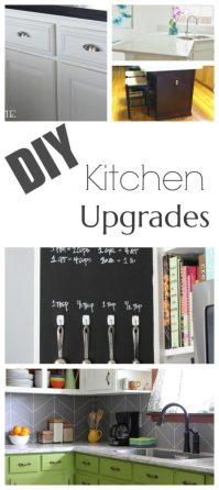 DIY Kitchen Upgrade Ideas