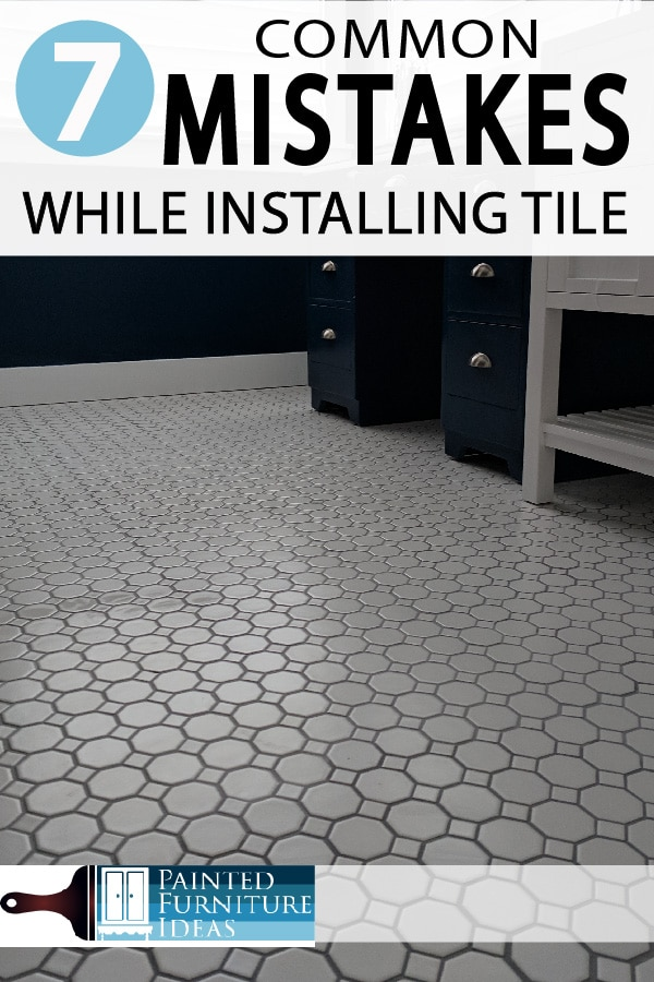 7 common mistakes made while installing