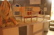 """1/2"""" = 1'-0"""" Scale Model (original architecture by MK Barr copyright)"""