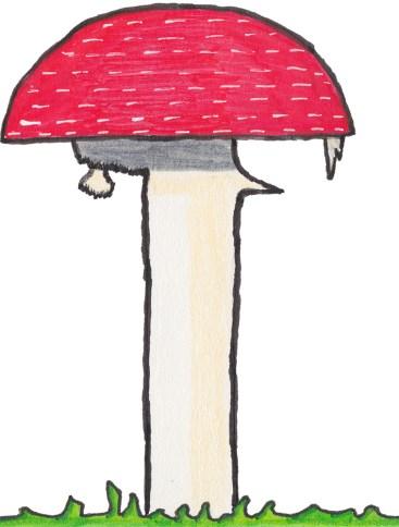 Day-21-Red-Mushroom
