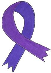 Medium-Purple-Awareness-Ribbon