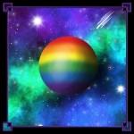 LGBTQIA+ Moon Classic Rainbow