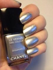 chanel intemporel painted nails