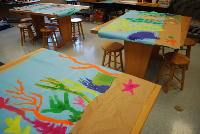 murals-drying-on-the-tables_5434280129_o